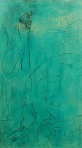 "Right Dream Diptych - 32"" x 18"" Acrylic on Canvas"