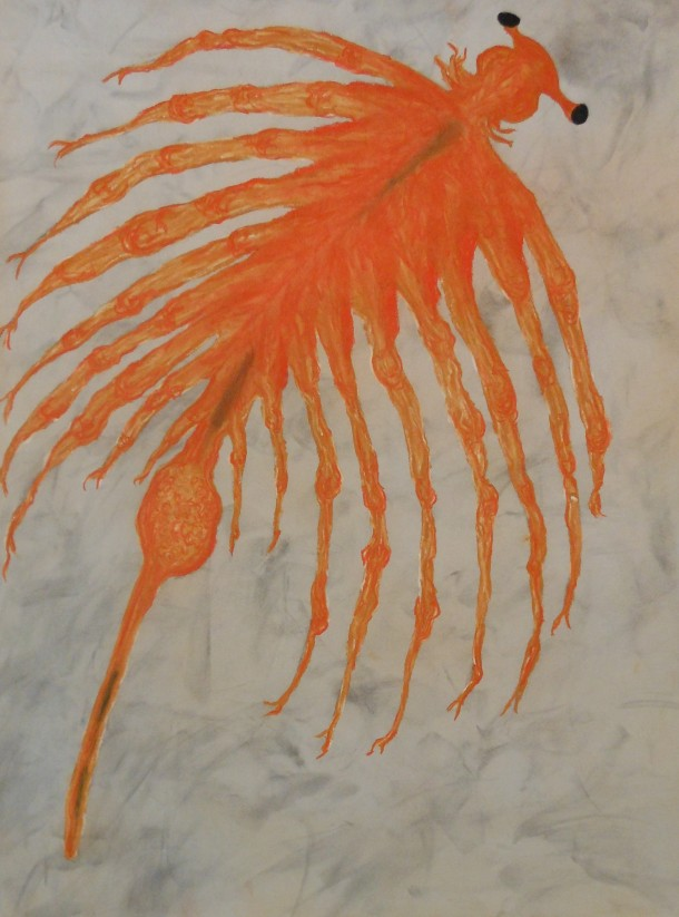 "Pastel on Magnani Pescia Paper 30"" x 22"""