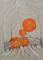 "Tintinnid - Pastel on Magnani Pescia Paper 30"" x 22"""
