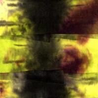 "ProtoNext #13 Acrylic on Paper, mounted on wood, 5""x5"""