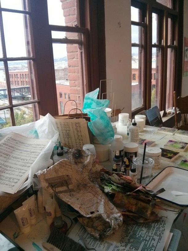 Studio Clutter
